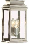 Elstead ST MARTINS PN Polished Nickel Outdoor Wall Lantern